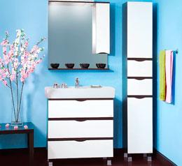 Мебель ванной комнаты мурманск Смеситель E.C.A. Mina 102108920H для раковины